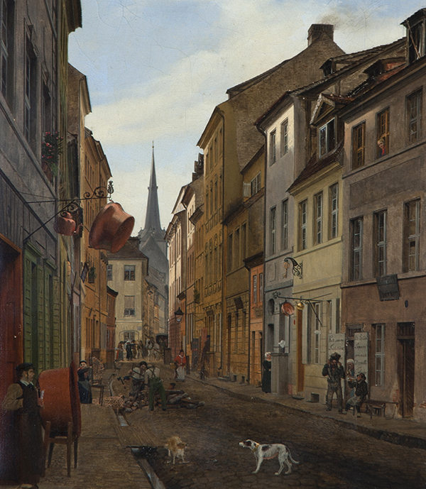 Eduard Gaertner Painting Sold For $266,000.00 by Fine Estate, Inc.