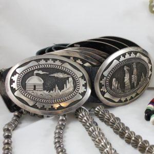 Hopi Concho Belt